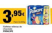 Oferta de Galletas rellenas de chocolate Príncipe por 3,95€