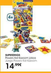 Oferta de Juegos Superzings por 14,99€