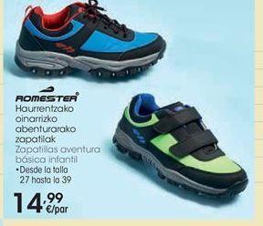 Oferta de Zapatillas aventura Romester por 14,99€