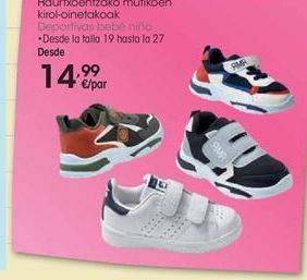 Oferta de Zapatillas trkking infantil Romester por 19,99€