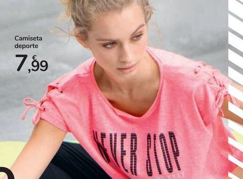 Oferta de Camiseta deporte por 7,99€
