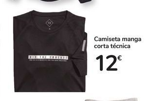 Oferta de Camiseta manga corta técnica por 12€