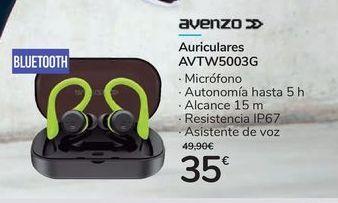 Oferta de Auriculares AVTW5003G por 35€