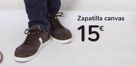 Oferta de Zapatilla canvas por 15€