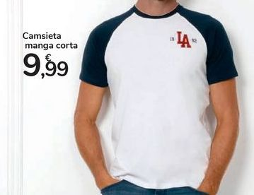 Oferta de Camiseta manga corta por 9,99€