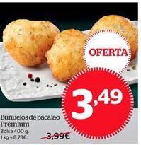 Oferta de Buñuelos por 3,49€