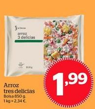 Oferta de Arroz tres delicias por 1,99€