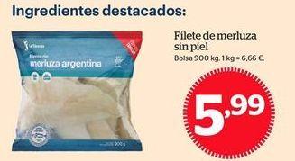 Oferta de Filetes de merluza por 5,99€