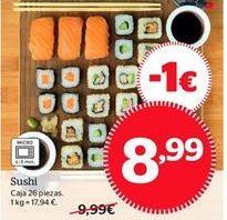 Oferta de Sushi por 8,99€