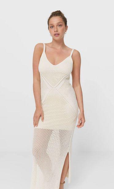 Oferta de Vestido crochet calado por 25,99€