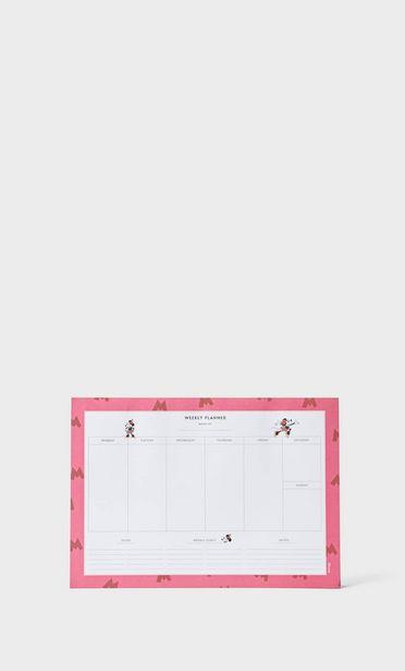 Oferta de Planner mesa Minnie Mouse por 7,99€