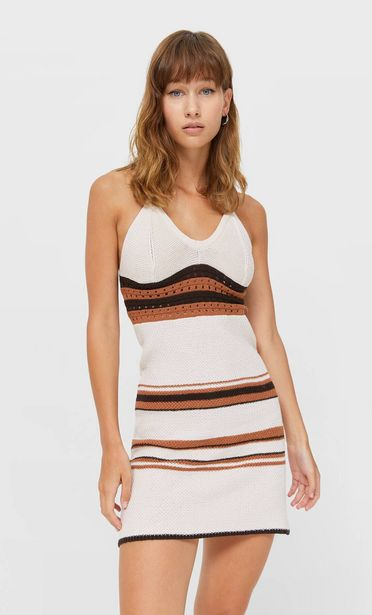 Oferta de Vestido crochet cenefa por 25,99€