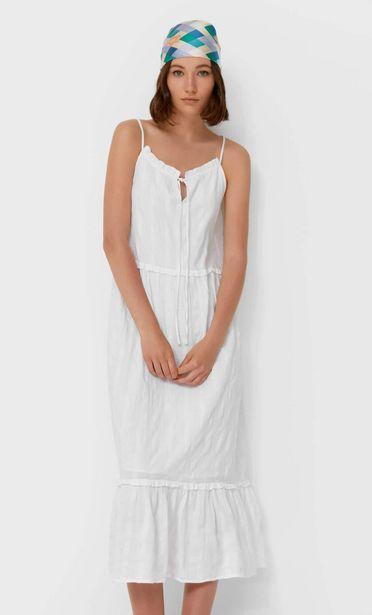 Oferta de Vestido largo cuello halter por 12,99€