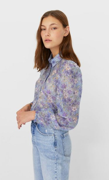 Oferta de Camisa manga abullonada por 5,99€