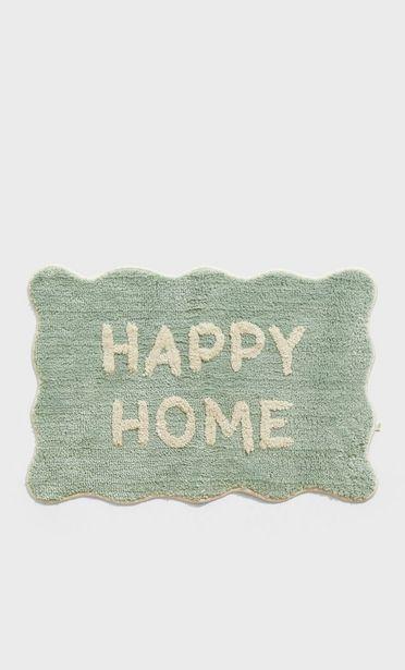 Oferta de Alfombra happy home por 12,99€