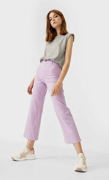 Oferta de Pantalón culotte sarga seamless por 15,99€
