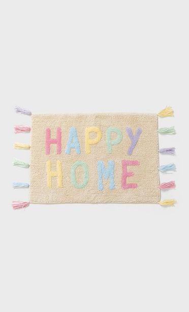 Oferta de Alfombra happy home por 15,99€