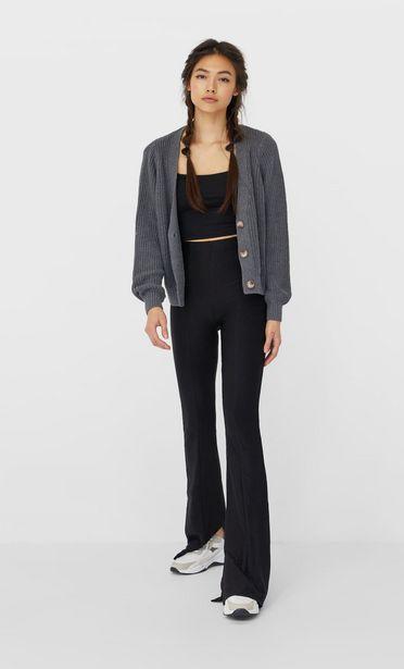 Oferta de Pantalon flare cortes laterales por 12,99€