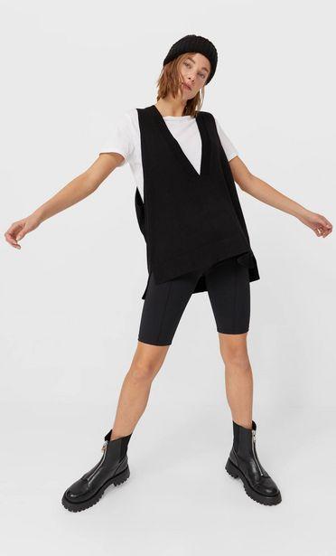 Oferta de Chaleco oversize cuello pico por 19,99€