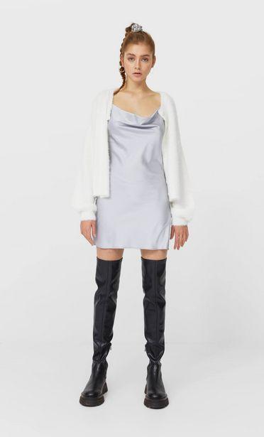 Oferta de Vestido corto satén por 5,99€