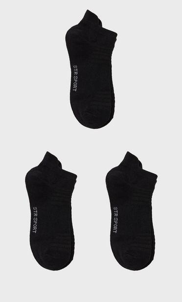 Oferta de Pack 3 calcetines tobilleros por 7,99€