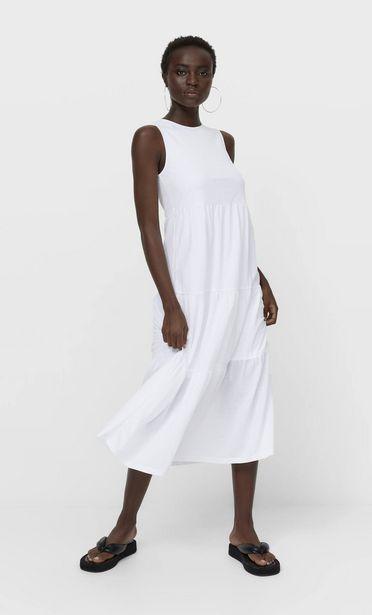 Oferta de Vestido midi sin mangas por 19,99€