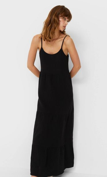 Oferta de Vestido midi rustico por 19,99€