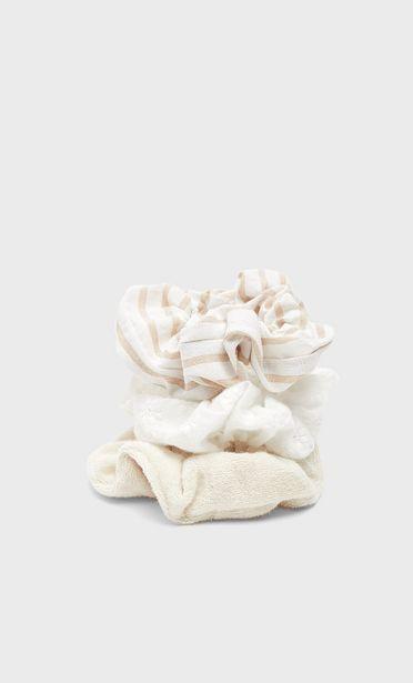 Oferta de Set 3 coleteros rayas y toalla por 5,99€