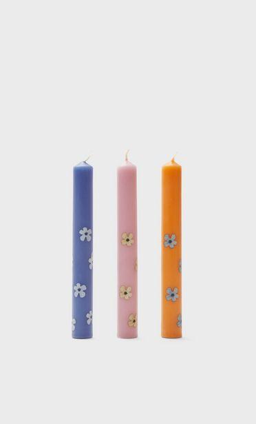 Oferta de Pack velas flor por 7,99€