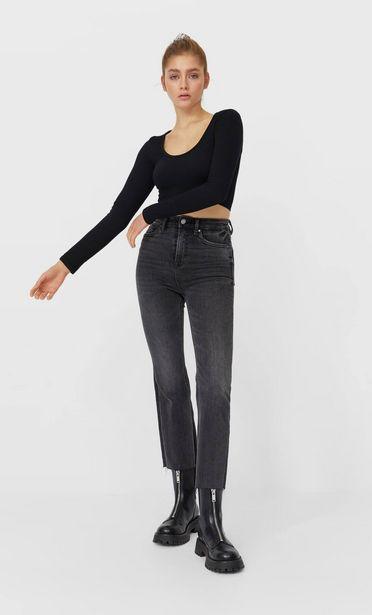 Oferta de Jeans crop flare por 12,99€