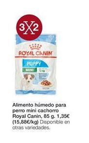Oferta de Alimento húmedo para perro mini cachorro Royal Canin por 1,32€