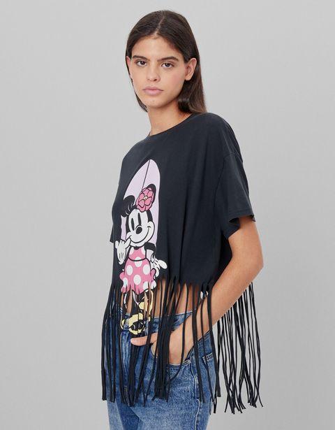 Oferta de Camiseta Minnie flecos por 5,99€