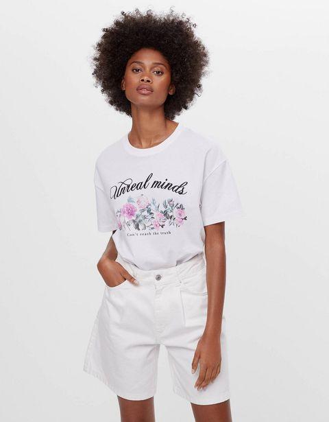 Oferta de Camiseta print foto por 3,99€