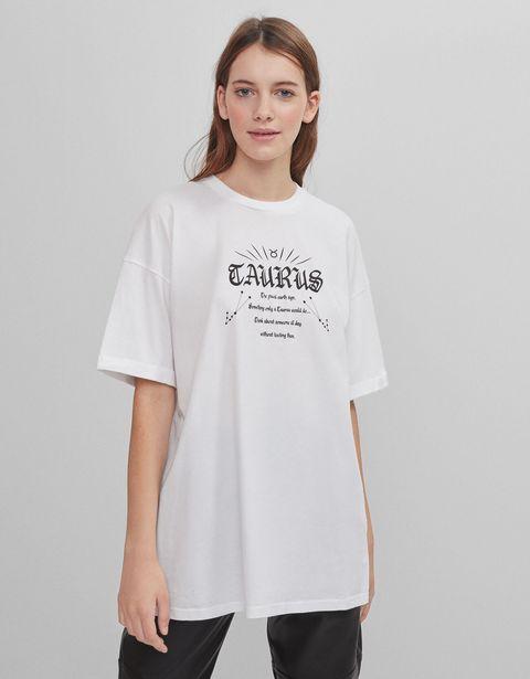 Oferta de Camiseta zodiaco Tauro por 3,99€