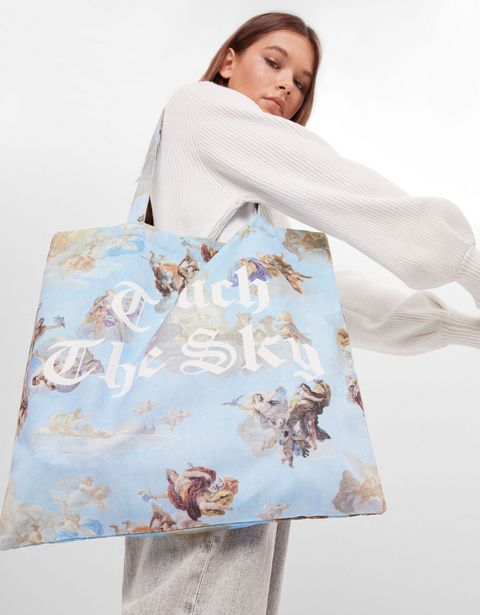 Oferta de Bolso shopper ángeles por 7,99€