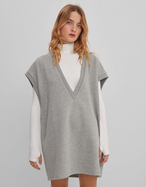 Oferta de Chaleco vestido felpa por 12,99€