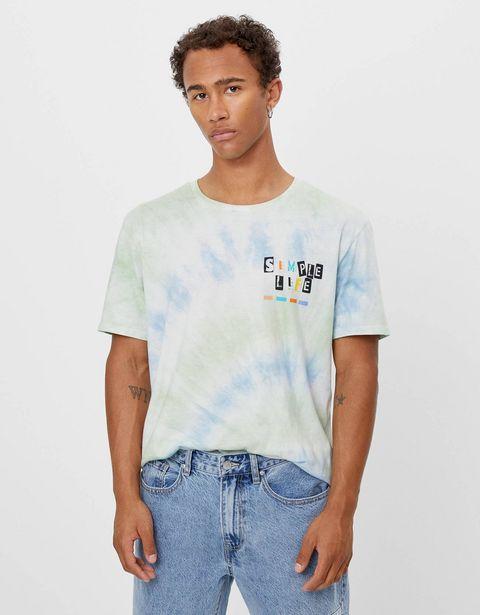 Oferta de Camiseta tie dye por 3,99€