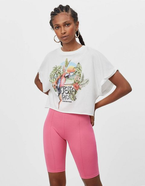 Oferta de Camiseta print Costa Rica por 3,99€
