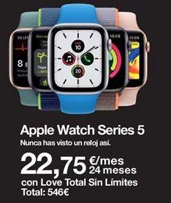 Oferta de Apple Watch Apple por
