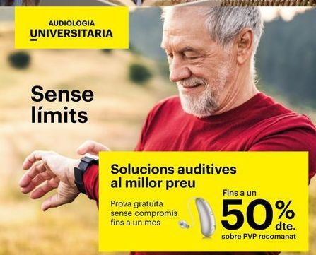 Oferta de Soluciones auditivas al mejor precio por