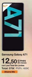 Oferta de Samsung Galaxy Samsung por