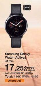 Oferta de Smartwatch Samsung por