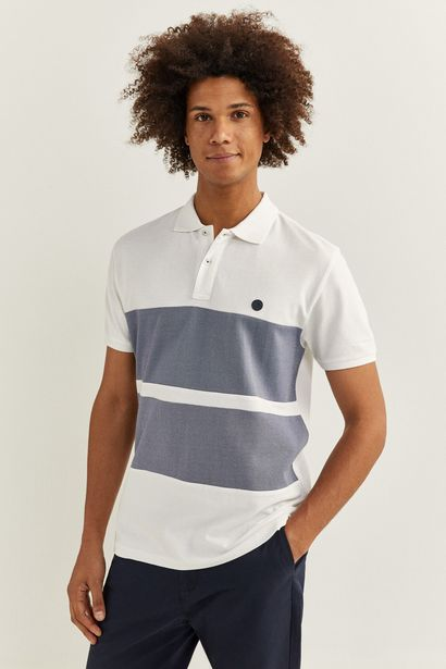 Oferta de Polo slim rayas oxford por 9,99€