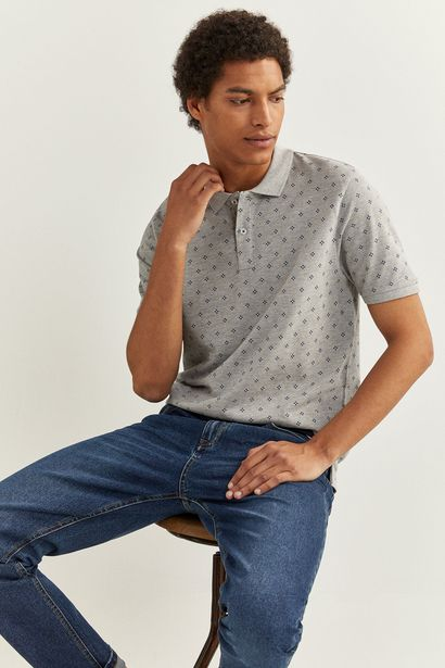 Oferta de POLO SLIM BÁSICO ALL OVER por 9,99€