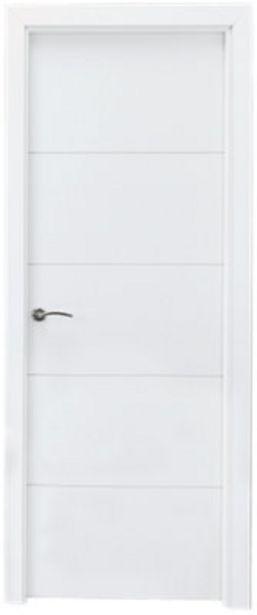 Oferta de Puerta Lucerna Plus blanco de apertura derecha de 72,5 cm por 159€