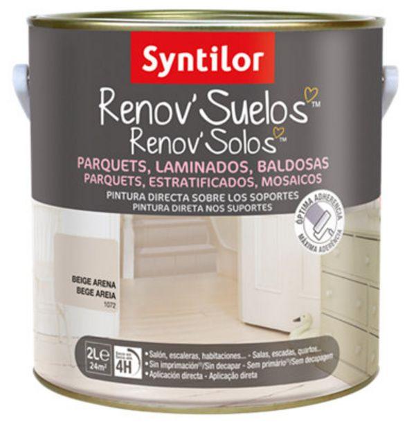 Oferta de Pintura para suelos Syntilor beige arena por 26,09€