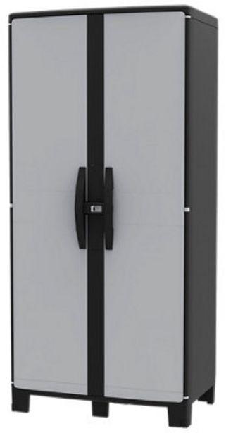 Oferta de Armario resina alto COOL XL GRIS 180X85X52CM por 92,49€