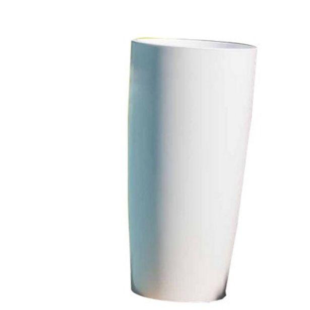 Oferta de Maceta de resina Gaudí blanco D33 cm por 44,95€