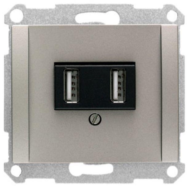 Oferta de Toma de USB BJC Iris blanco por 50,99€