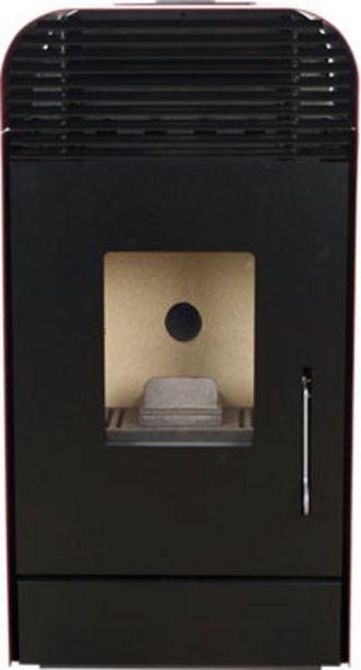 Oferta de Estufa de pellet BIOMASS 10 PLUS Burdeos por 829€
